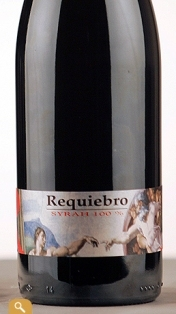 "REQUIEBRO SYRAH 100% ""2009"", 75 cl"